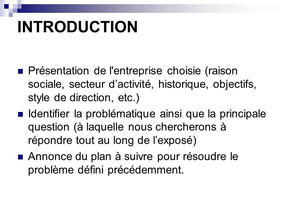 DEFINITION DES OBJECTIFS Objectif principal Objectifs secondaires