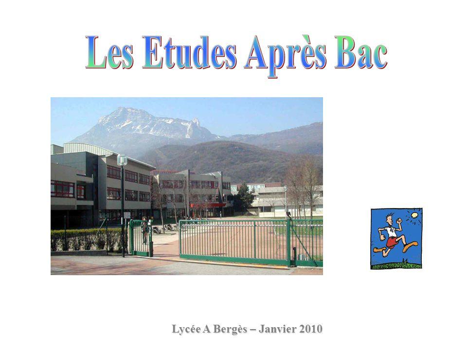 Lycée A Bergès – Janvier 2010