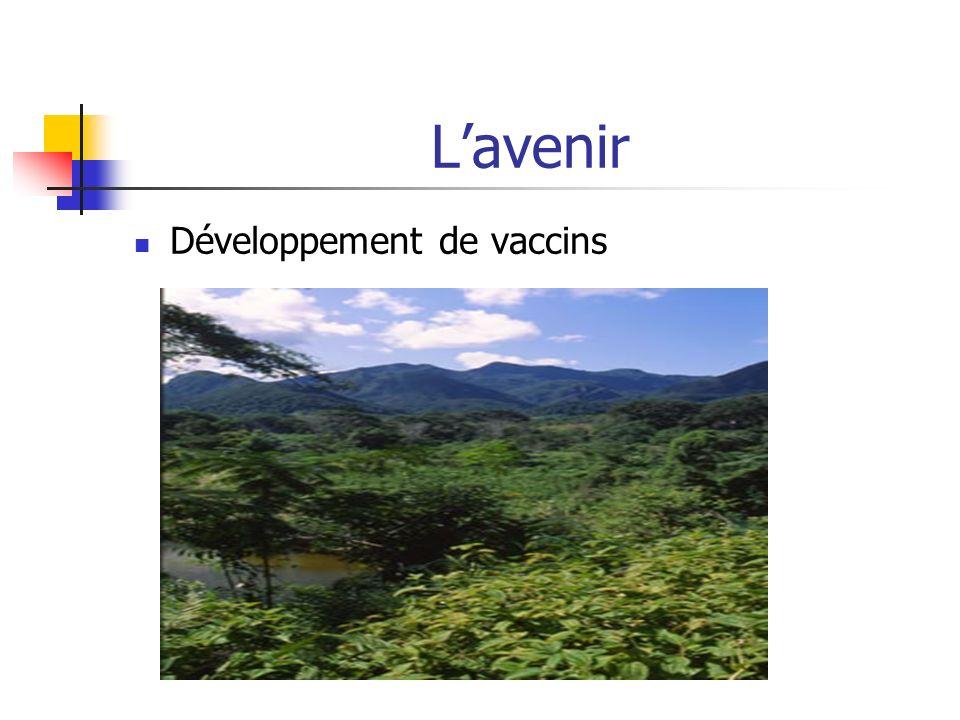 Lavenir Développement de vaccins