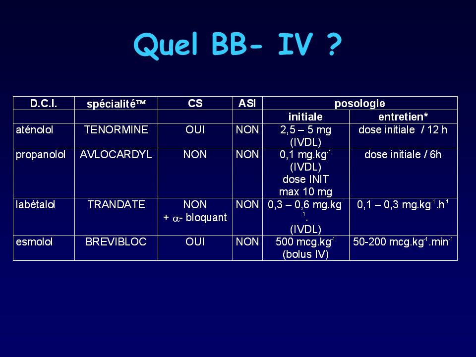 Quel BB- IV ?