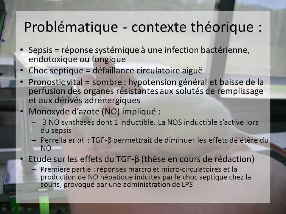 Sepsis = réponse systémique à une infection bactérienne, endotoxique ou fongique Choc septique = défaillance circulatoire aiguë Pronostic vital = somb