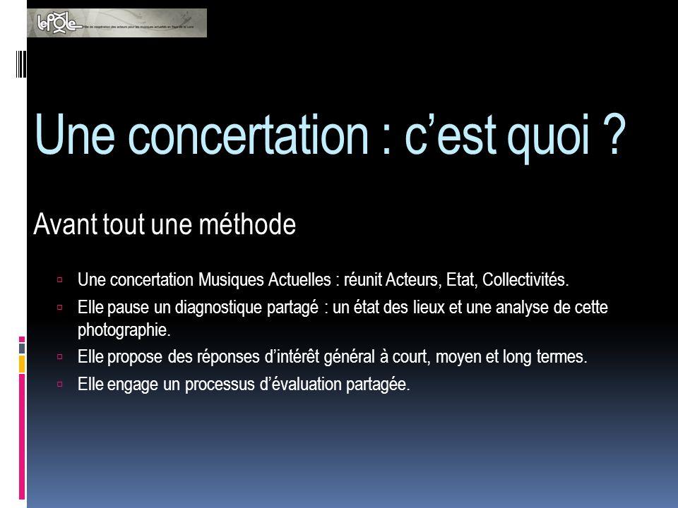 Une concertation : quels avantages .Le diagnostique met en œuvre une pluralité dacteurs.