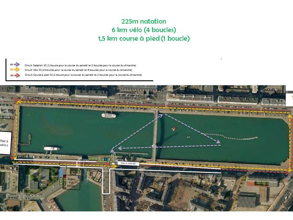 Dimanche 22 septembre – 12h15 Triathlon L 3 km de natation bassin du commerce 80 km de vélo 20 km de course à pied entre le Havre et Sainte-Adresse