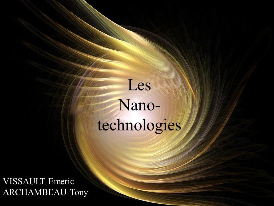 Applications en électronique La course à la miniaturisation La lecture des disques durs est un phénomène nanométrique Ce que nous promettent les nanotechnologies : - La capacité de stocker plus de 5 téraoctets sur un timbre-poste (5000 Giga octect !) - Des processeurs plus petits quun grain de poussière assemblés par des bactéries (!) assemblés par des bactéries (!) - Réalisation de super diodes électroluminescentes, très lumineuses et à faible consommation et bien plus encore… p11/14