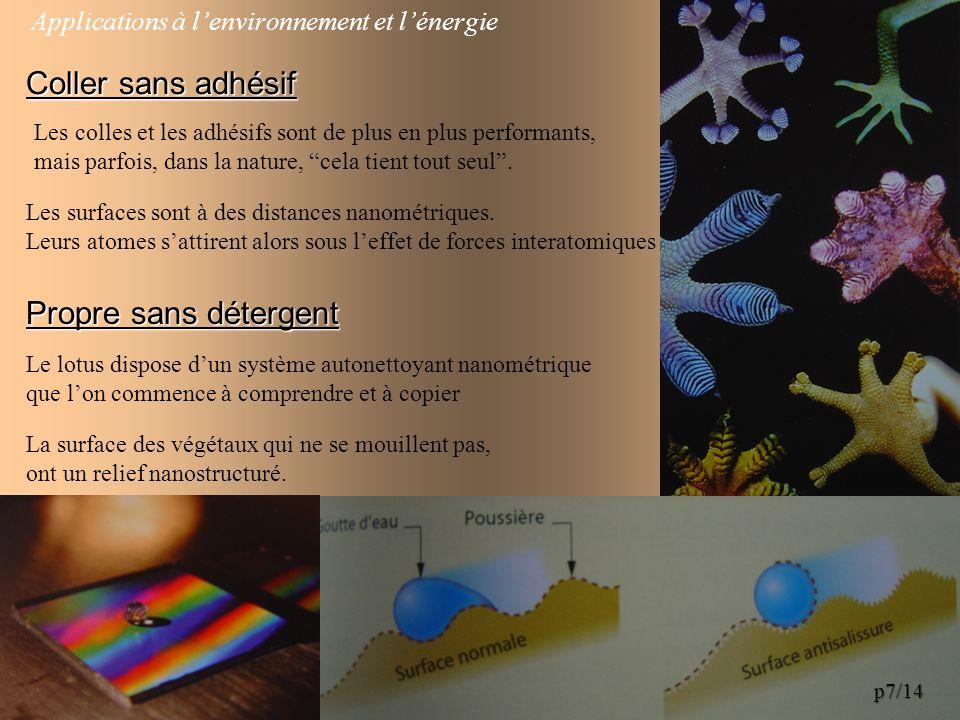 Biologie - Médecine Utilisations des nanocristaux : Localiser une biopuce.