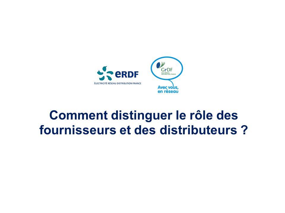 Comment distinguer le rôle des fournisseurs et des distributeurs ?