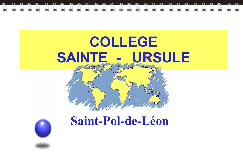COLLEGE SAINTE - URSULE Saint-Pol-de-Léon