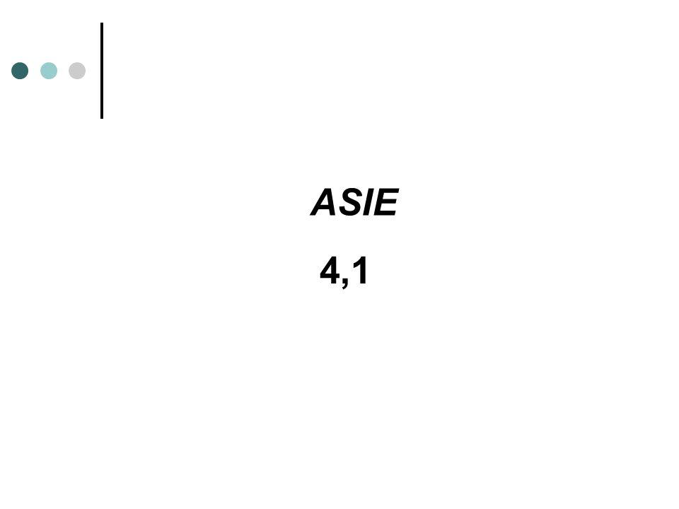 4,1 ASIE