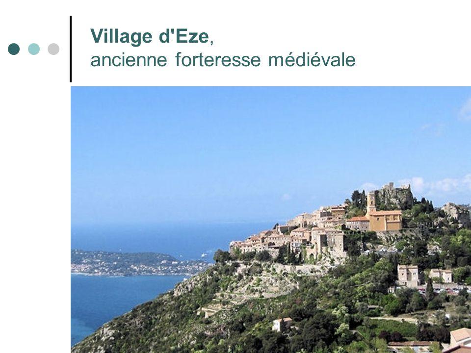 Village d Eze, ancienne forteresse médiévale