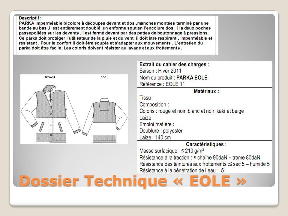 Dossier Technique « EOLE »