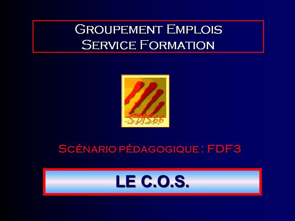Scénario pédagogique : FDF3 LE C.O.S.