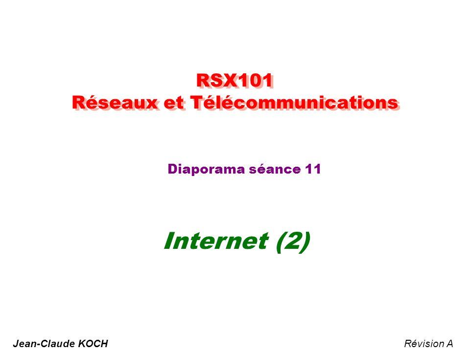 RSX101 - Réseaux & Télécommunication - JCK 2 Le niveau TRANSPORT PHYSIQUE LIAISON RÉSEAU TRANSPORT SESSION PRÉSENTATION APPLICATION PHYSIQUE LIAISON RÉSEAU TRANSPORT SESSION PRÉSENTATION APPLICATION PROCESSUS ÉMISSION PROCESSUS RÉCEPTION données AH données PH données SH données TH données NH LHLT bits Médium de transmission données