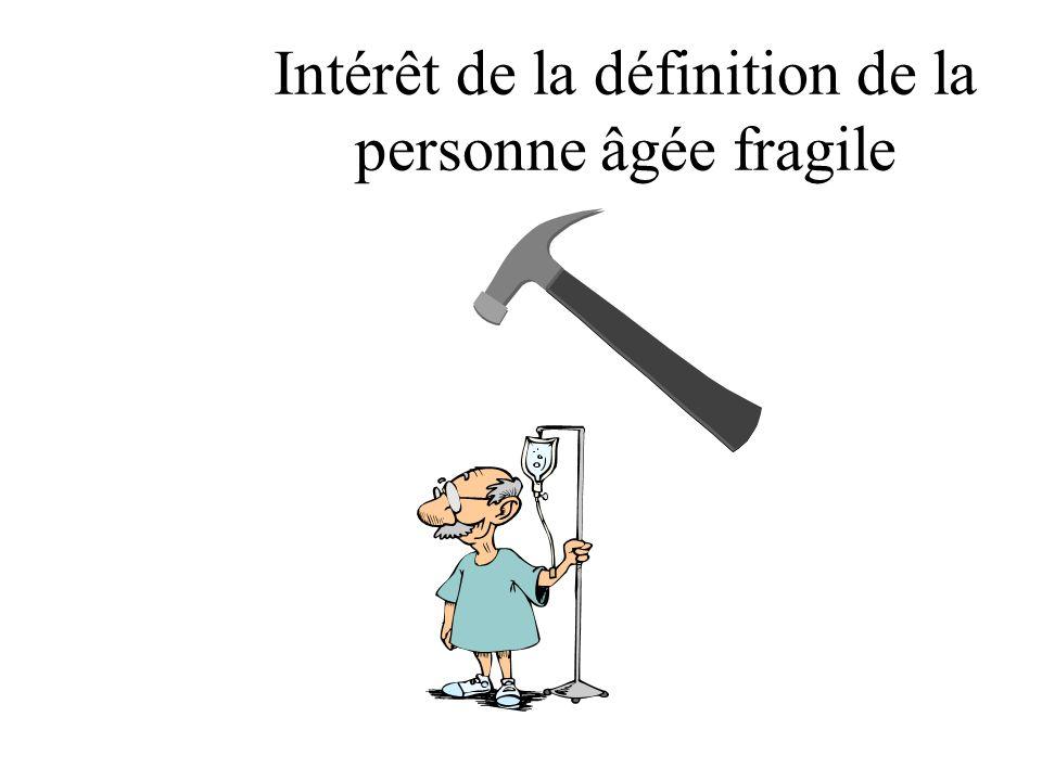 Le sujet âgé « fragile » Stress