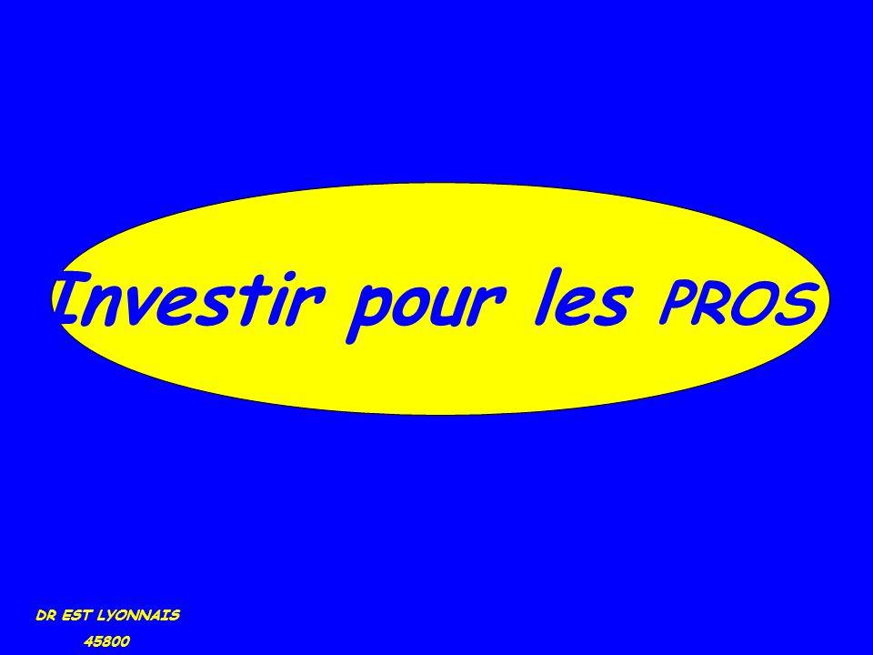 DR EST LYONNAIS 45800 Investir pour les PROS