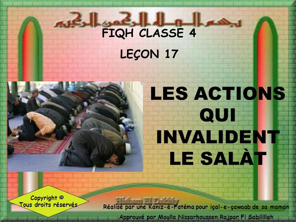 9. Dire « Amîne » après la Sourate Al Fàtihà Amine