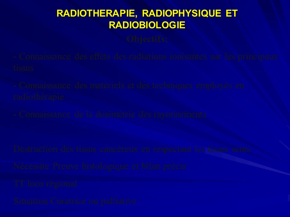 Modes daction des rayonnements ionisants Modes daction des rayonnements ionisants 1.1.1 Les rayonnements ionisants Quest ce quun rayonnement .
