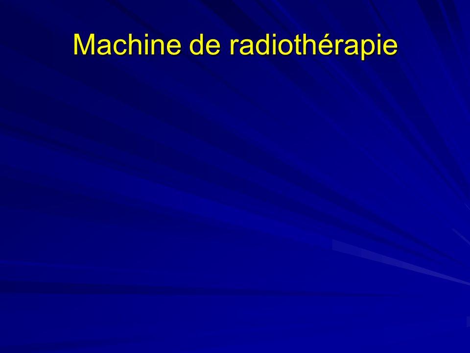 Machine de radiothérapie