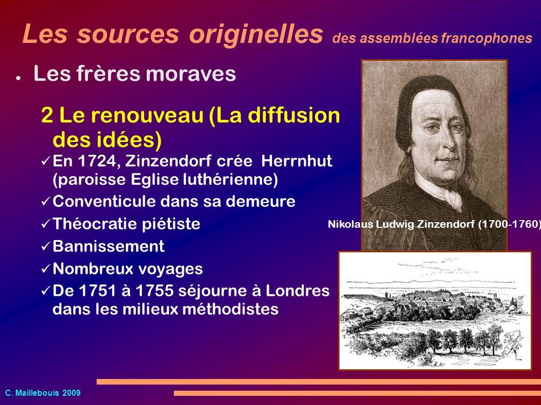C.Maillebouis 2009 Le méthodisme J. Wesley (1703-1791)C.