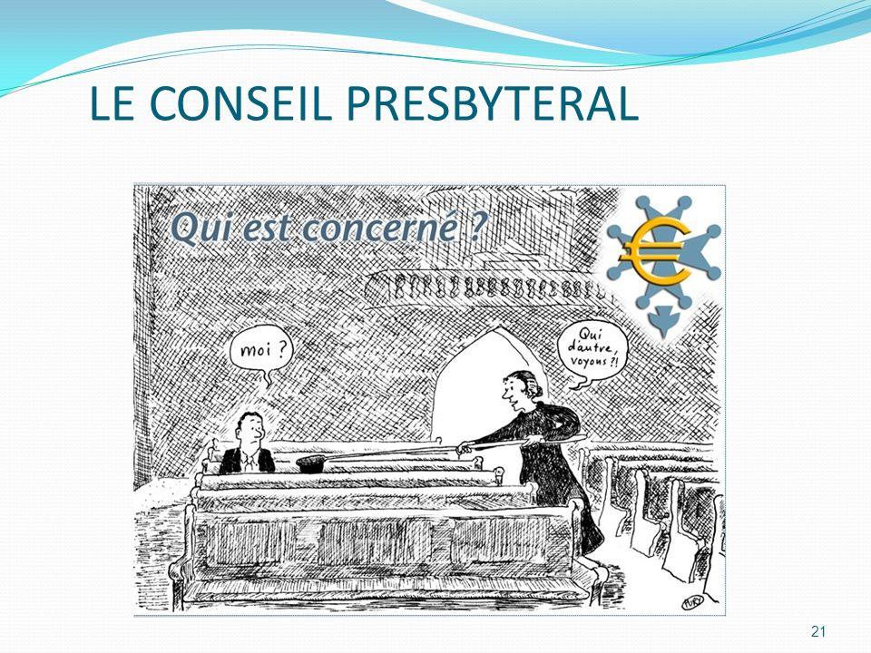 21 LE CONSEIL PRESBYTERAL