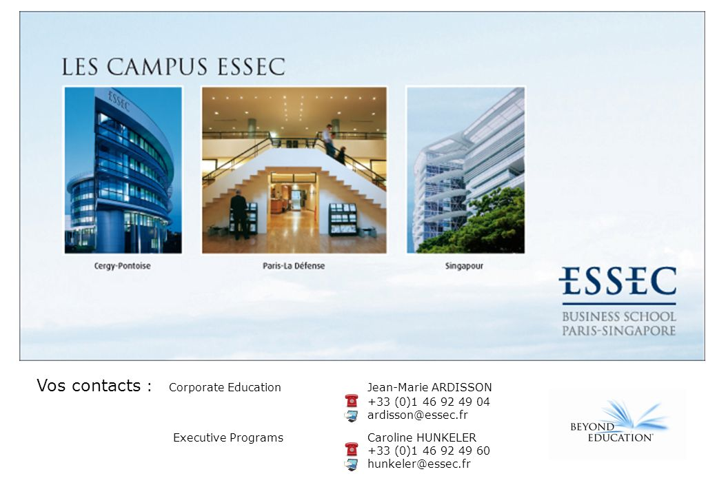 Copyright © ESSEC Business School – No part of this document may be copied or used in any way without the authorization of ESSEC Business School. Octo