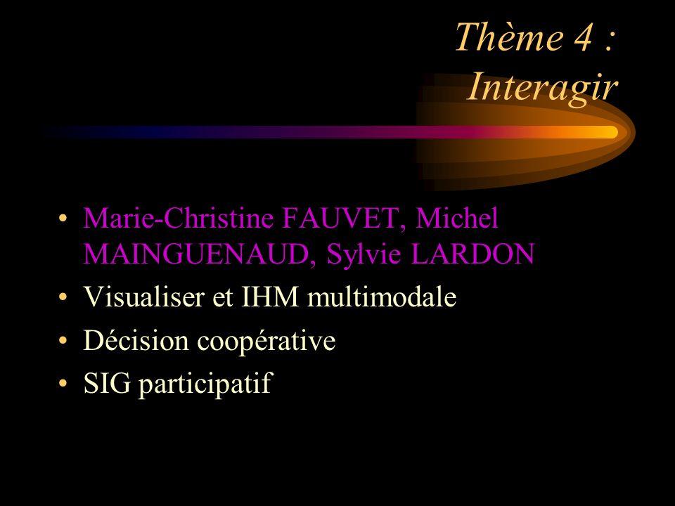 Thème 5 : SIG et mobilité Philippe RIGAUX et Sylvie SERVIGNE Architecture des systèmes embarqués Objets et requêtes mobiles
