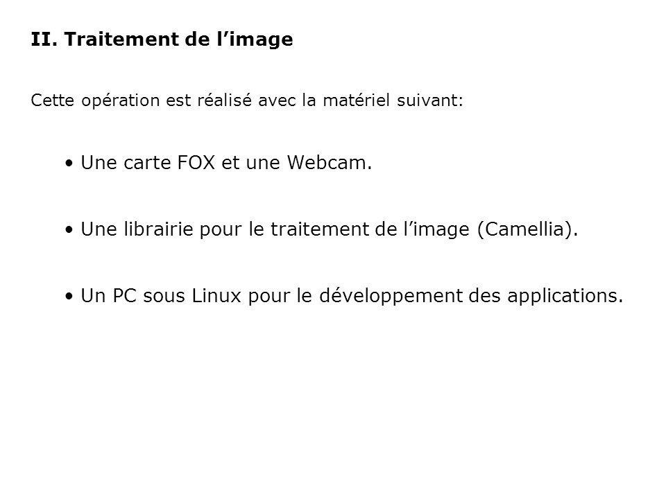 A.La carte FOX La carte FOX est une carte embarqué qui intègre un noyau Linux.
