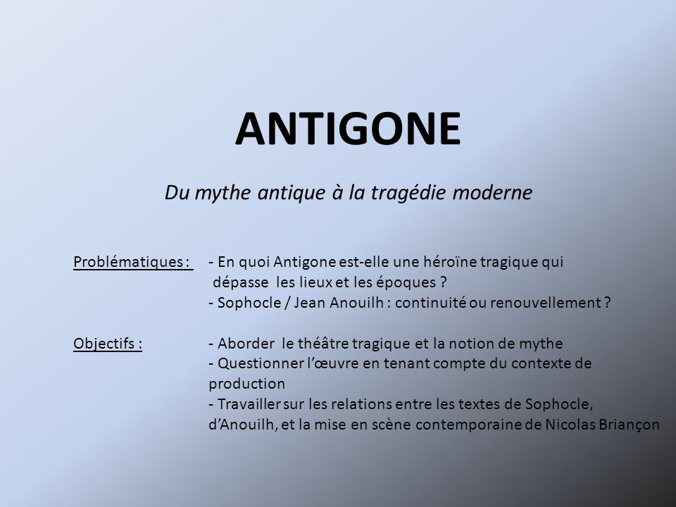 antigone anouilh essay questions Essay questions for antigone - why be concerned about the assignment get the necessary help on the website stop receiving bad marks with these custom research paper.