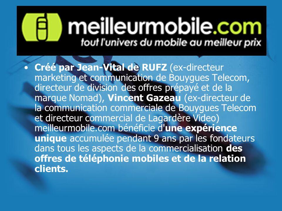 Créé par Jean-Vital de RUFZ (ex-directeur marketing et communication de Bouygues Telecom, directeur de division des offres prépayé et de la marque Nom
