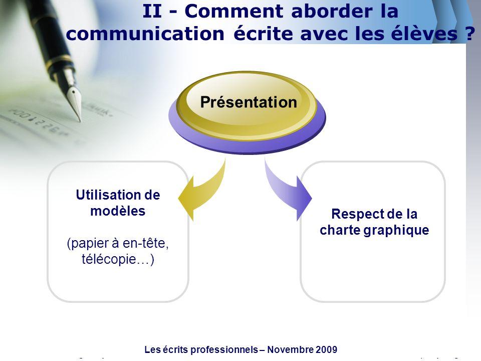 www.themegallery.comCompany Logo Utilisation de modèles (papier à en-tête, télécopie…) Présentation Respect de la charte graphique II - Comment aborde