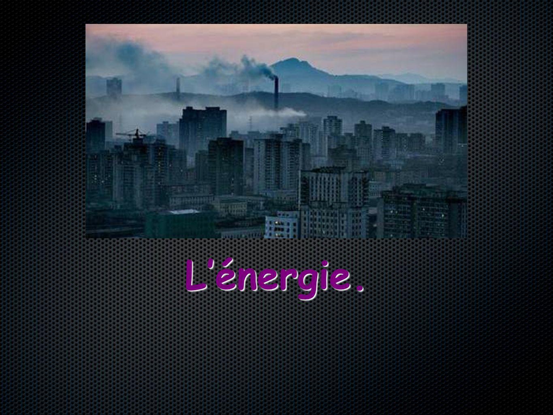 I°) Lénergies sous différentes formes.