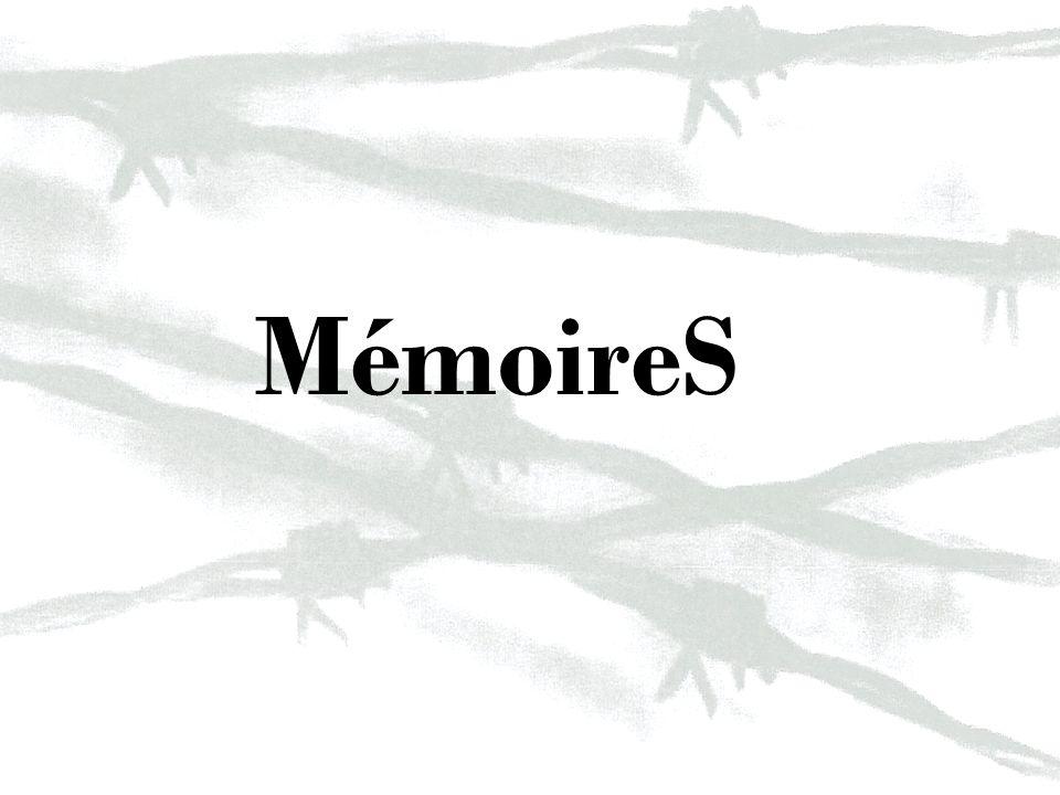 Remerciements Merci à la Fondation pour la Mémoire de la Shoah, présidée par Madame Simone Weil, ainsi quà la Région Pays de la Loire qui ont financé ce voyage détude.
