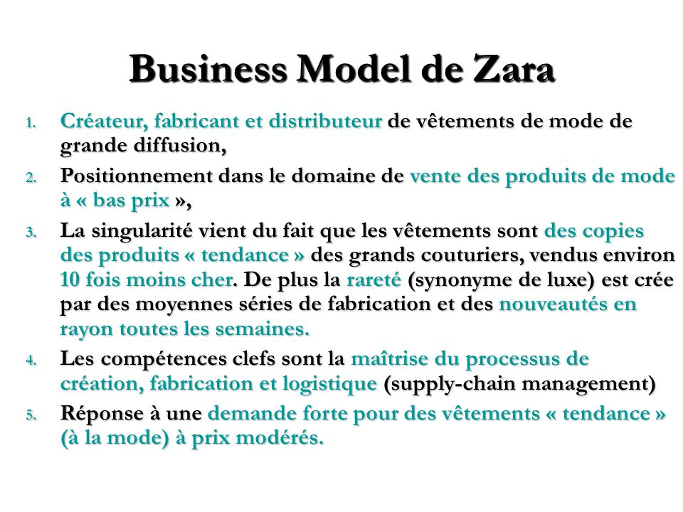 Expliciter votre Business Modèle Adapté de Gary Hamel : Leading the Revolution (2002) Customer Interface Cibles .