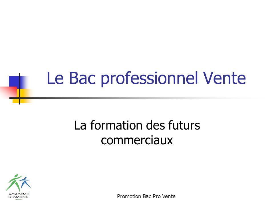 Promotion Bac Pro Vente Le Bac professionnel Vente La formation des futurs commerciaux