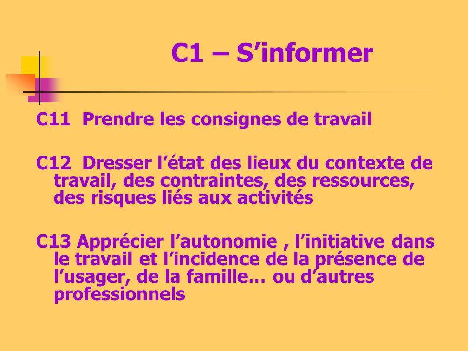 4 - Les compétences du référentiel Elles prennent appui sur cinq capacités : C1 - Sinformer C2 – Sorganiser C3 – Sadapter C4 – Réaliser et contrôler C