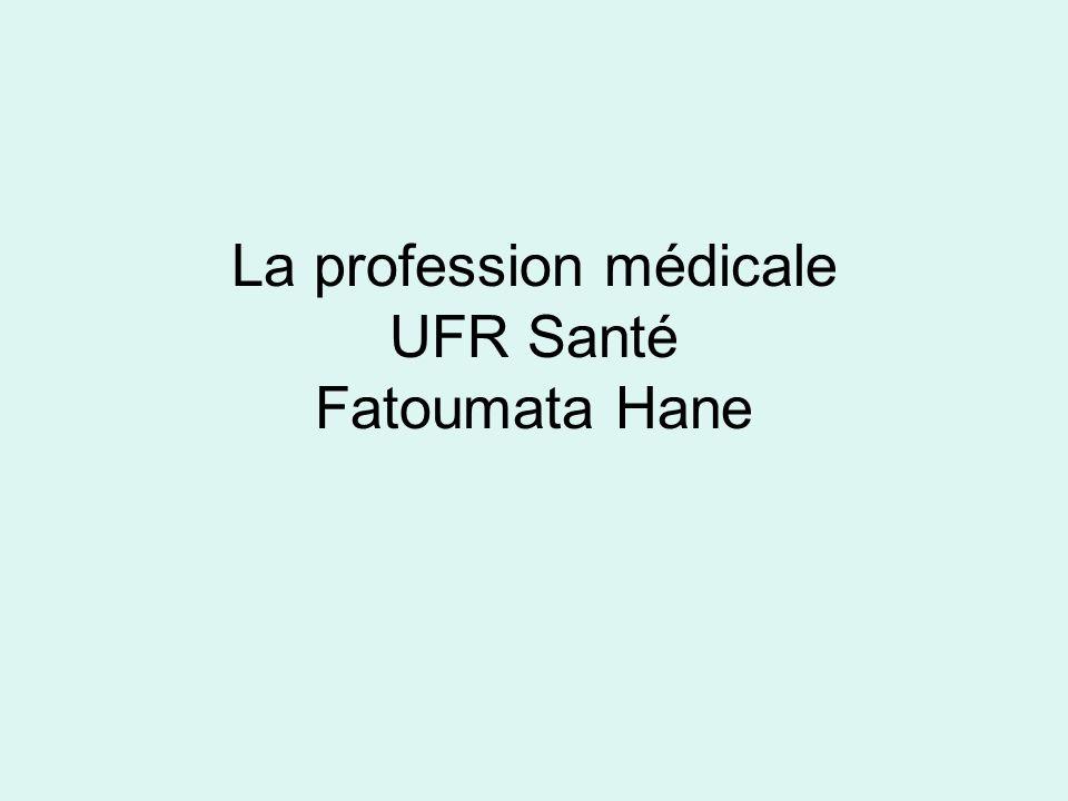 Les pratiques professionnelles en contexte La médecine est un savoir mais aussi une pratique.