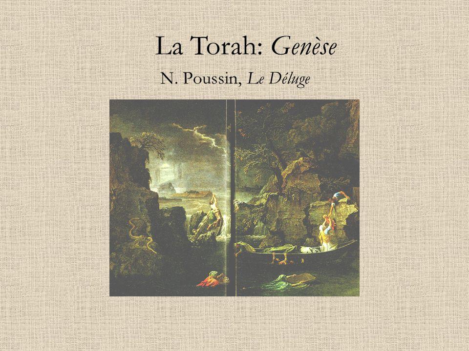 N. Poussin, Le Déluge La Torah: Genèse