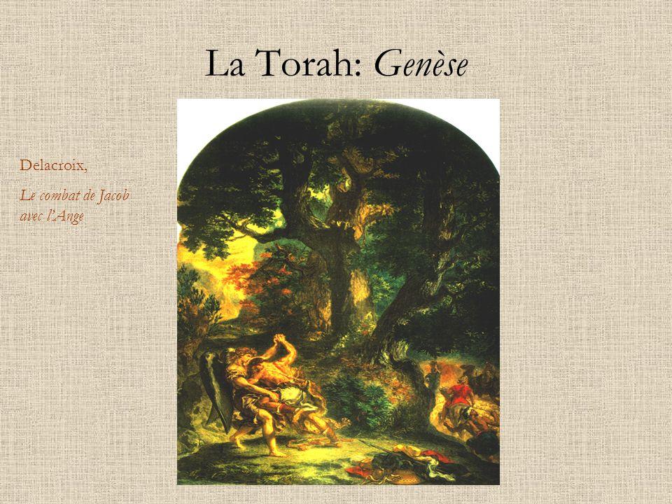 La Torah: Genèse Delacroix, Le combat de Jacob avec lAnge