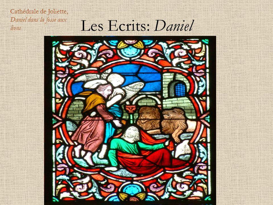 Les Ecrits: Daniel Cathédrale de Joliette, Daniel dans la fosse aux lions
