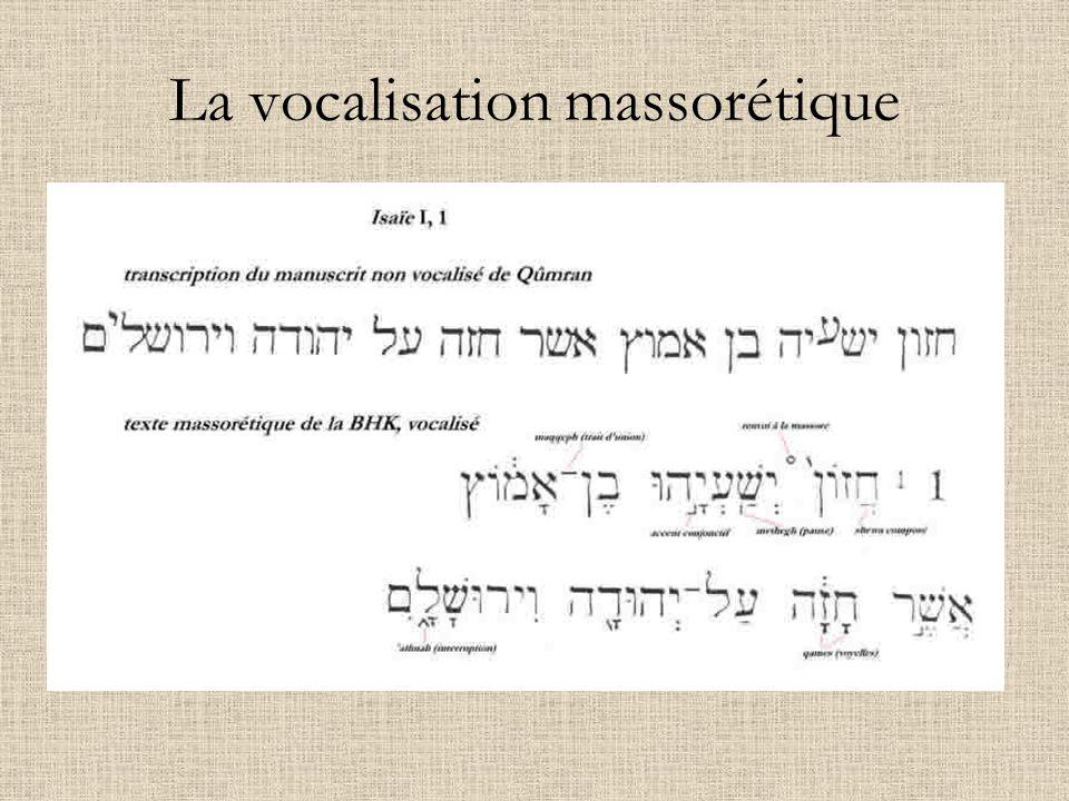 A.Le texte proto-massorétique Témoins du texte hébraïque avant 1947 (1) Le papyrus Nash (vers 150 av.