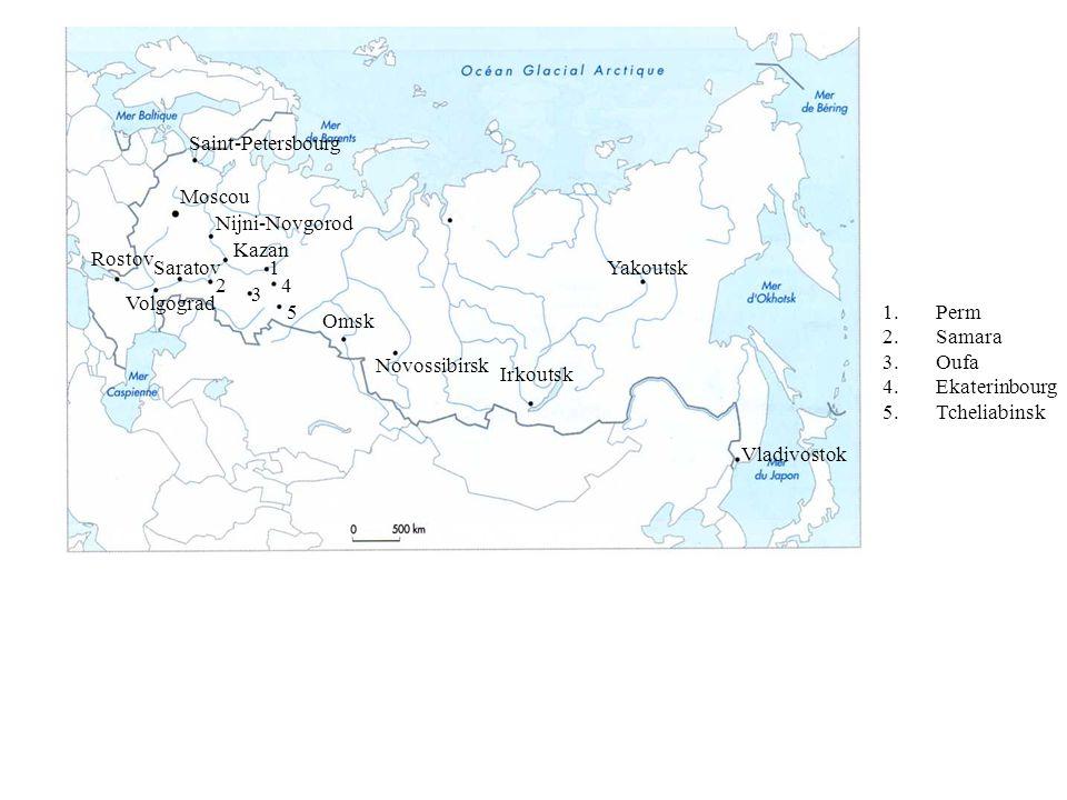 La Russie : un espace en recomposition