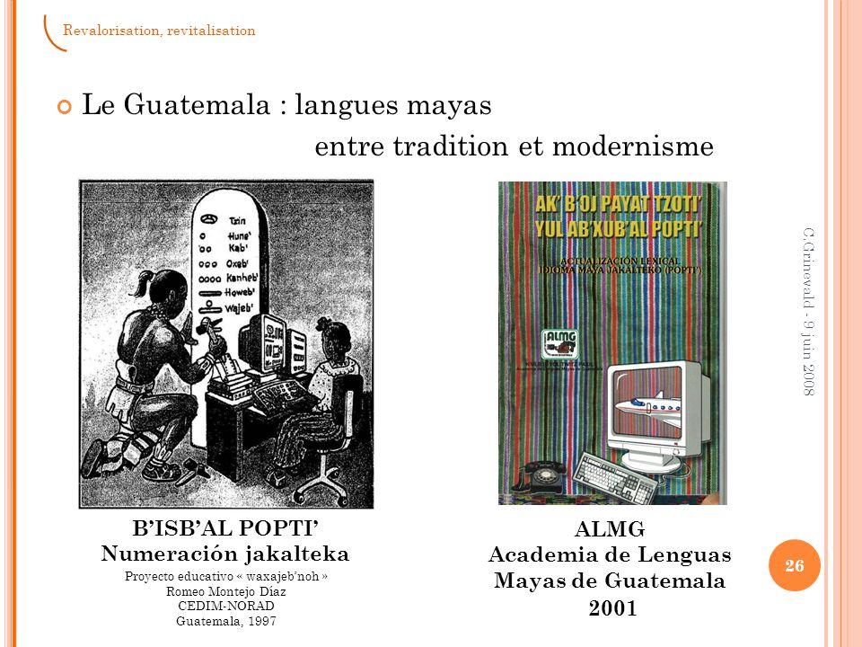 Projet Rama du Nicaragua Miss Nora « sauve » la langue rama (1985 – 2001) 27 C.Grinevald - 9 juin 2008 Revalorisation, revitalisation © Claudia Gordillo