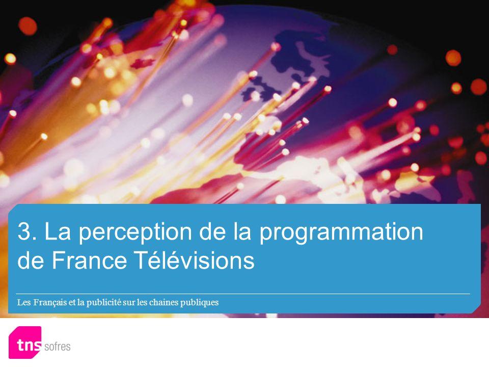 Les Français et la publicité sur les chaines publiques 3.
