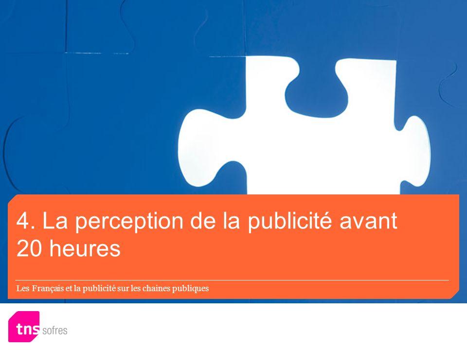 Les Français et la publicité sur les chaines publiques 4.