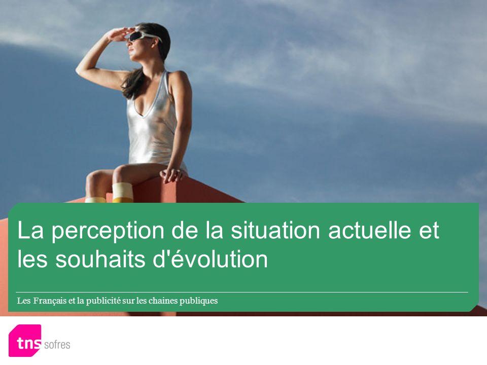 Les Français et la publicité sur les chaines publiques La perception de la situation actuelle et les souhaits d évolution