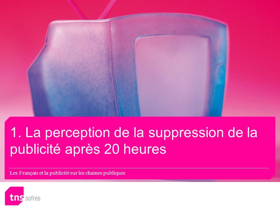 Les Français et la publicité sur les chaines publiques 1.