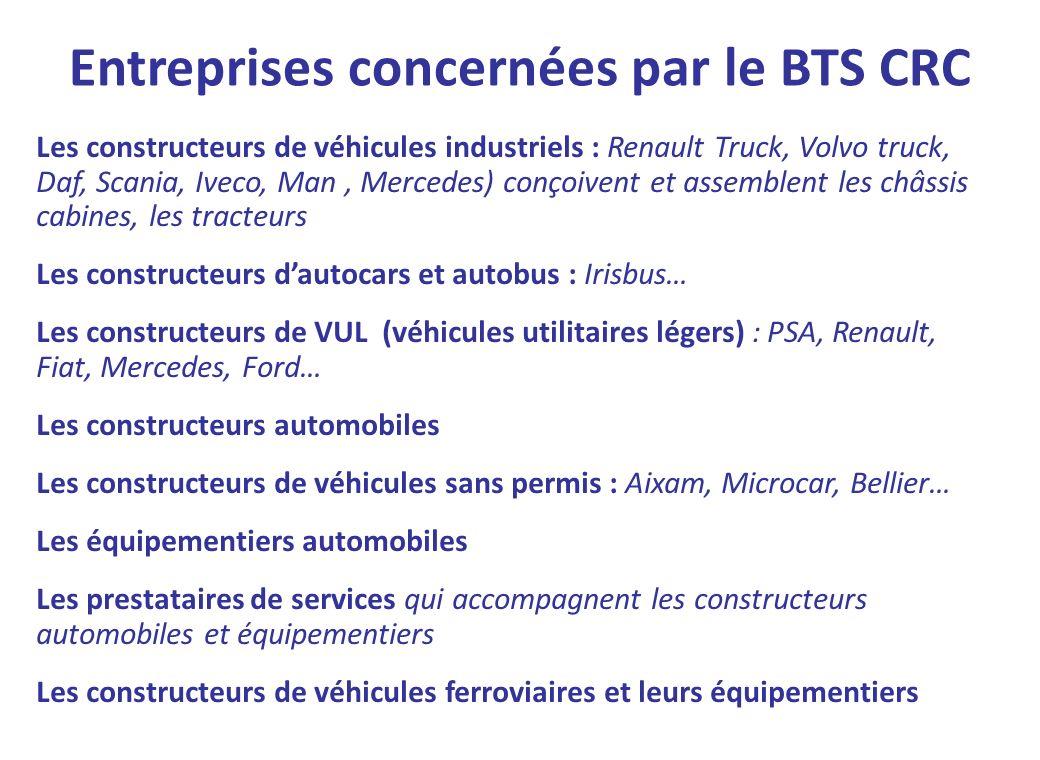 Les constructeurs de véhicules industriels : Renault Truck, Volvo truck, Daf, Scania, Iveco, Man, Mercedes) conçoivent et assemblent les châssis cabin