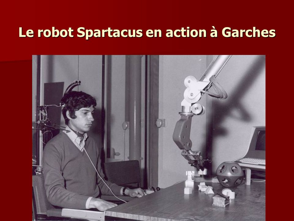 Le robot Spartacus en action à Garches
