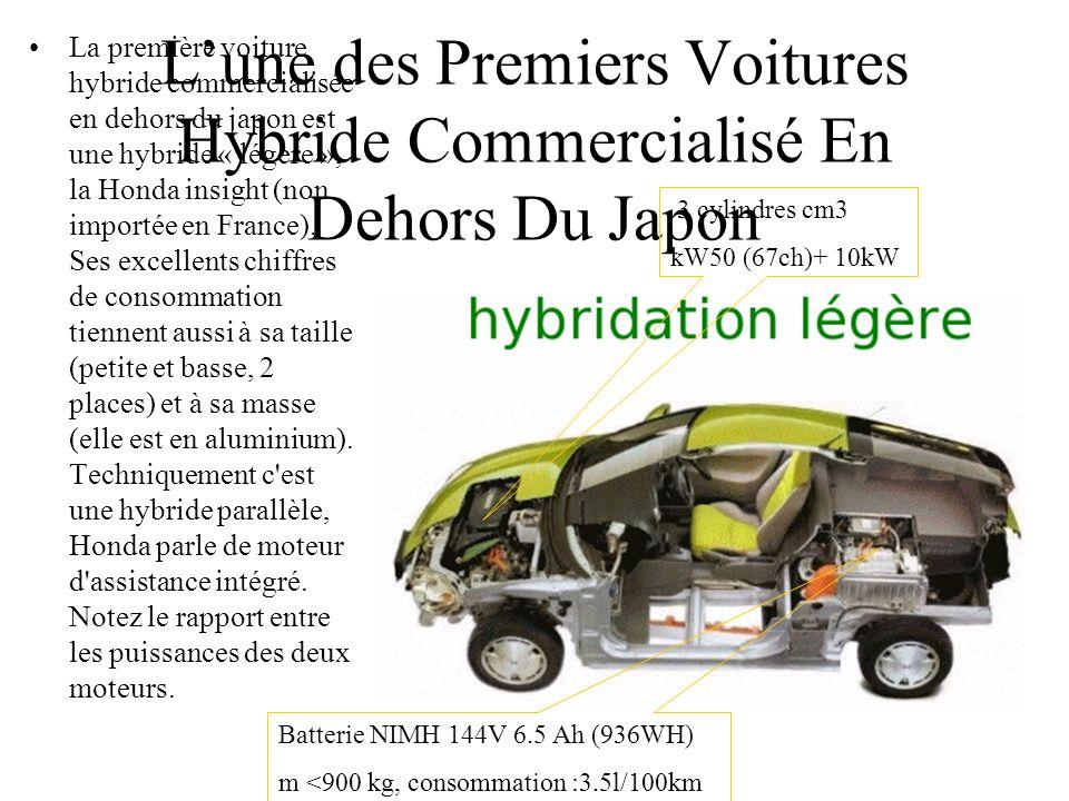 Lune des Premiers Voitures Hybride Commercialisé En Dehors Du Japon La première voiture hybride commercialisée en dehors du japon est une hybride « lé