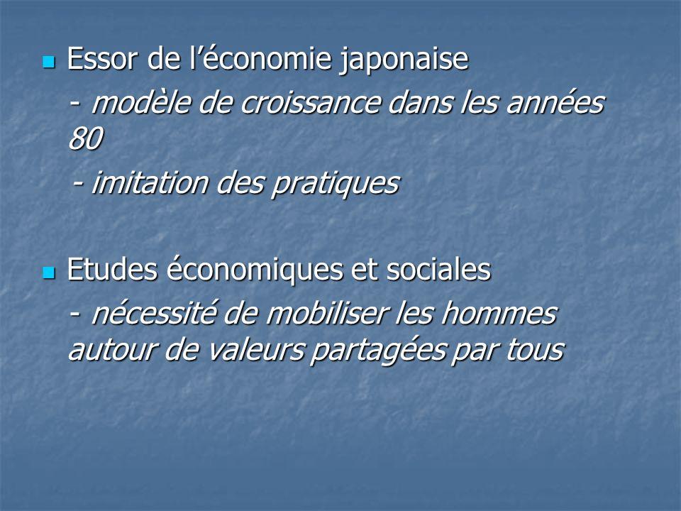 Essor de léconomie japonaise Essor de léconomie japonaise - modèle de croissance dans les années 80 - modèle de croissance dans les années 80 - imitat
