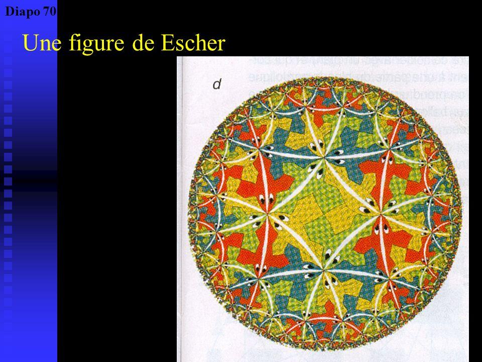 Pavage du plan par Escher Diapo 69